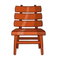 Chair icon cartoon style vector image vector image