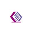 data paper storage file logo vector image