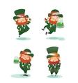 Happy St Patrick Day gratters cartoon Leprechaun
