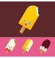Set of Lovely Ice Cream vector image