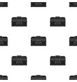 boombox icon in black style isolated on white vector image vector image