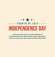 collection independence day background style vector image vector image