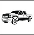 ford powerstroke vector image