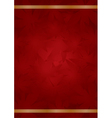 goldred luxury background vector image vector image