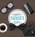 happy fathers day background best dad vector image vector image