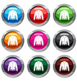 jacket set 9 collection vector image vector image