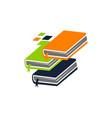 online book app vector image
