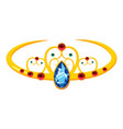 tiara icon cartoon style vector image
