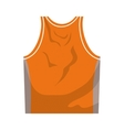 Tshirt icon Basketball design graphic vector image vector image