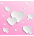 Valentines day backround vector image vector image