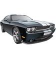 American pony car vector image vector image