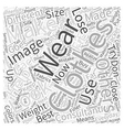 An Image Consultant Can Help You Lose Weight Word vector image vector image
