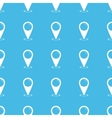 Area pointer straight pattern vector image vector image