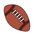 balloon football american sport vector image vector image