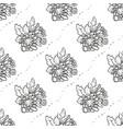 bouquet chrysanthemum flowers vector image vector image
