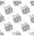 bouquet of chrysanthemum flowers vector image vector image