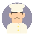 Chef icon flat style vector image vector image