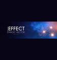 fireworks flash light effect on brick wall vector image