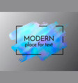 hand drawn artistic design element box frame or vector image vector image