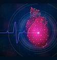 innovative medicine composition vector image vector image