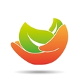 nature ecological symbol icon design vector image