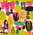 abstract fun background different geometric vector image