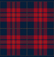 blue and red tartan plaid seamless pattern vector image vector image