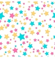 Bright stars seamless texture vector image