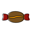 coffee candy seed vector image vector image