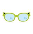 cool fashion glasses vector image