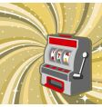 gambling machine vector image