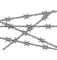 metallic barbed wire background