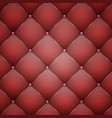 red leather texture vector image