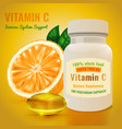 vitamin c package vector image