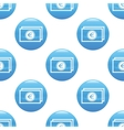 Euro banknote sign pattern vector image vector image