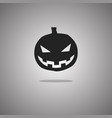 pumpkin halloween isolated vector image