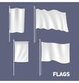 Realistic Flags Set vector image