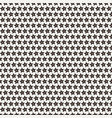 seamless star pattern vector image vector image