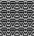 Tribal monochrome lace vector image vector image
