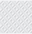 abstract 3d polygon geometry seamless pattern vector image vector image
