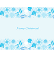 background snowflakes vector image vector image