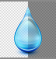 blue droplets eps 10 vector image vector image
