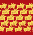 chinese new year pattern background year of the vector image vector image