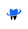 dental logo vector image vector image