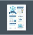 oktoberfest menu vintage typography template beer vector image vector image