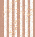 brown beige stripped grunge pattern vector image