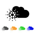 cardano cloud icon vector image