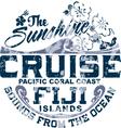 Coral coast vector image vector image