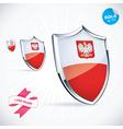 I Love Poland Flag vector image vector image