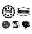 limited edition vintage mega discont dig sale vector image vector image
